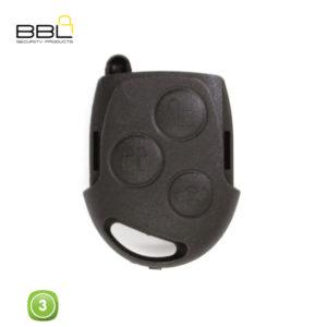 BBL Key Shells Ford Shape 3 Button KSC-FO-14A