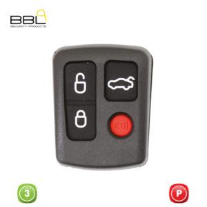 BBL Key Shells Ford Shape 3 Button KSC-FO-57B