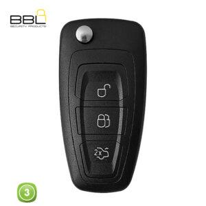 BBL Key Shells Ford Shape 3 Button KSC-FO-61A