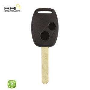 BBL Key Shells Honda Shape 2 Button KSC-HON-07B