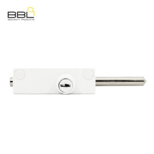 BBL Spring Loaded Door Bolt Patio Lock BBL402WH-1