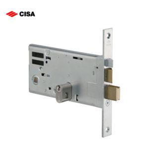 CISA Rim Deadlock And Latch Midrail Electric Lock 14461-70