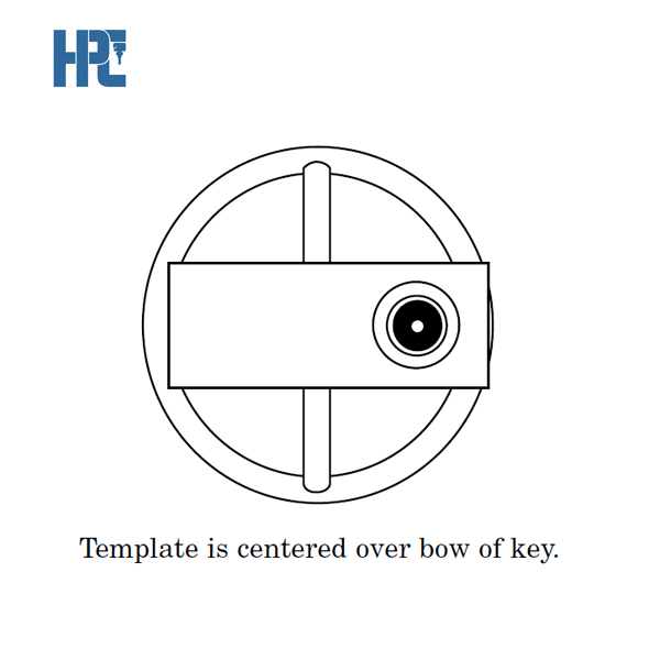 HPC-Ignition-Drill-Template-For-Ford-Locksmith-Accessory-ITF-14_J