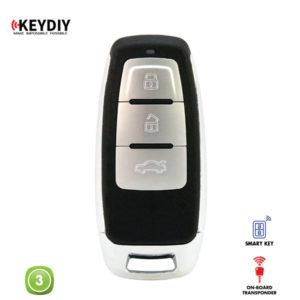 KEYDIY Remote VW Shape 3 Button KDZB08-3