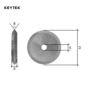 KEYTEK Latch Cutter 16.021.H30