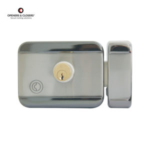 OPENERS & CLOSERS Double Cylinder Motorized Rim Electric Lock