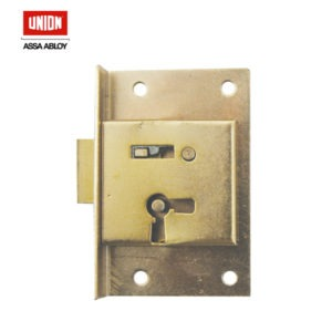 UNION 2 Lever Left Hand Cupboard Lock 415-64L/1