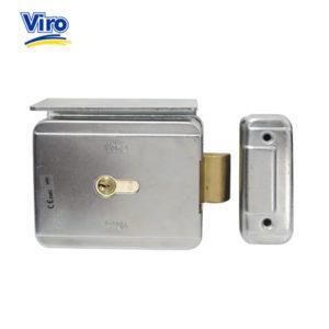 VIRO Rim Outward Opening Non-Handed Electric Lock V7928