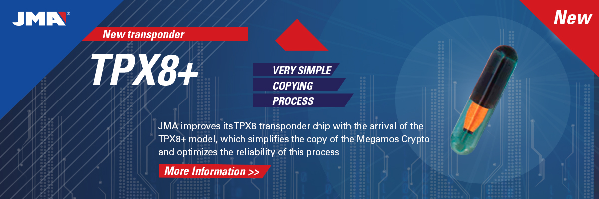 JMA Transponder Chip TPX8+