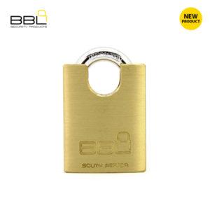 BBL Closed Shackle Brass Padlock BBP950CS-1