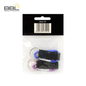 BBL 2 x 50mm Snap Hooks Key Ring Accessory Stand BBRQL50PP