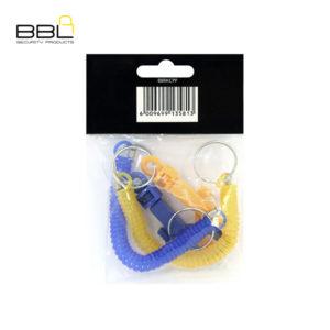 BBL 2 x Spiral Key Coils Key Ring Accessory Stand BBRKCPP