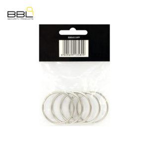 BBL 5 x 38mm Split Rings Key Ring Accessory Stand BBRKR38PP