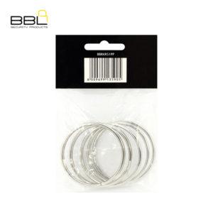 BBL 5 x 51mm Split Rings Key Ring Accessory Stand BBRKR51PP