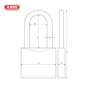 ABUS 37/55 Series Granit Padlock 37/55HB75