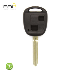 BBL Key Shells Toyota Shape 2 Button KSC-TOY-20HD