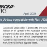 Software Update Update Fiat ADS2295