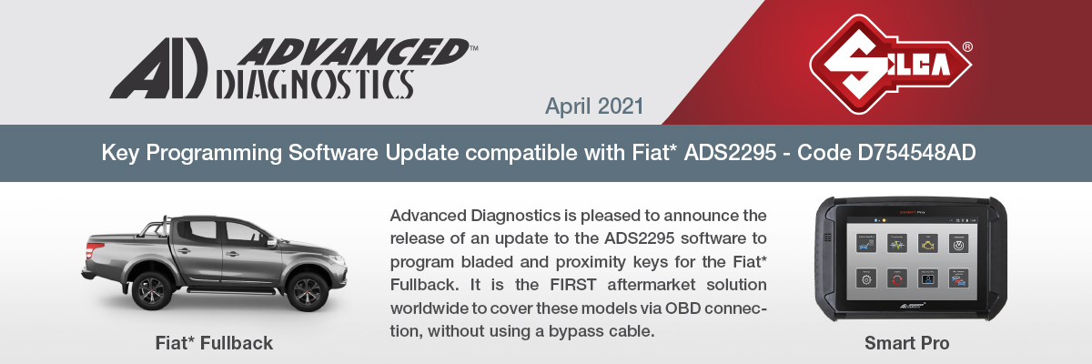 Read more about the article Software Update Update Fiat ADS2295