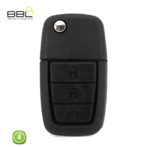 BBL Key Shells Chevrolet Shape 4 Button KSC-CHEV-22