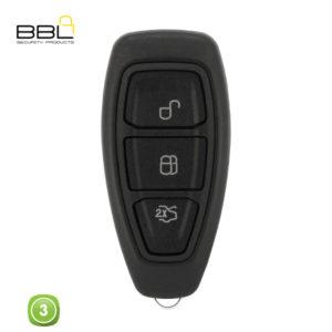 BBL Key Shells Ford Shape 3 Button KSC-FO-50E