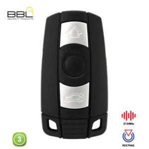 BBL Remote BMW Shape 3 Button REMC-BMW-09A