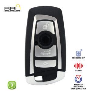 BBL Remote BMW Shape 4 Button REMC-BMW-14B