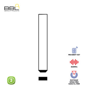 BBL Remote BMW Shape 4 Button REMC-BMW-14