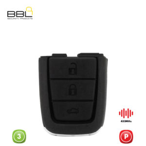 BBL Remote Chevrolet Shape 4 Button REMC-CHEV-R14