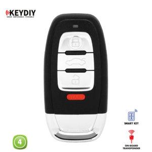 KEYDIY Remote Audi Shape 4 Button KDZB01-4