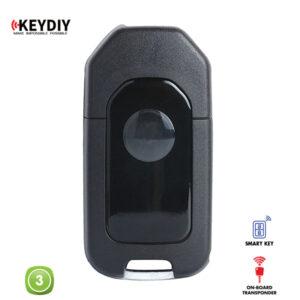 KEYDIY Remote Honda Shape 3 Button KDZB10-3