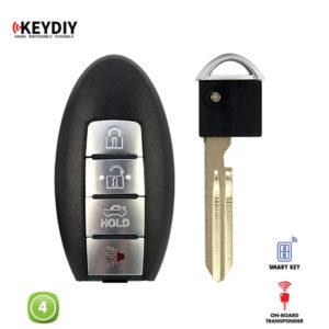 KEYDIY Remote Nissan Shape 4 Button KDZB03-4
