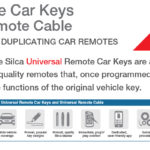 Universal Remote Car Keys and Universal Remote Cable