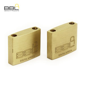 BBL Maxidor Slam Brass Padlock BBP940MXS-2
