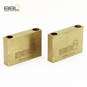 BBL Maxidor Slam Brass Padlock BBP950MXS-2
