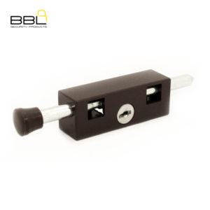 BBL Door Bolt Patio Lock BBL401BRN-1
