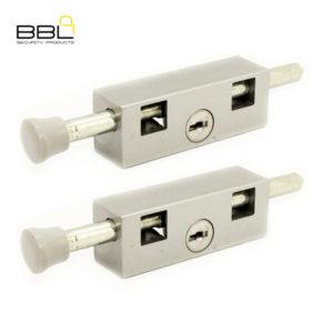 BBL Door Bolt Patio Lock BBL401GR-2