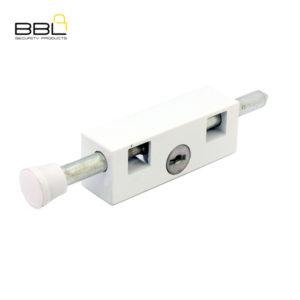 BBL Door Bolt Patio Lock BBL401WH-1