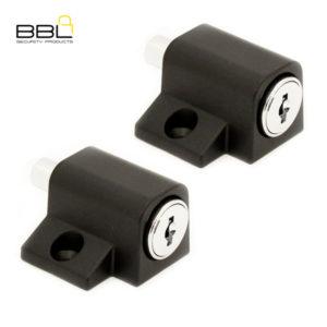BBL Push Lock Patio Lock BBF280BLK-2