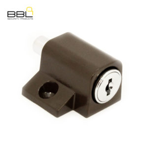 BBL Push Lock Patio Lock BBF280BRN-1