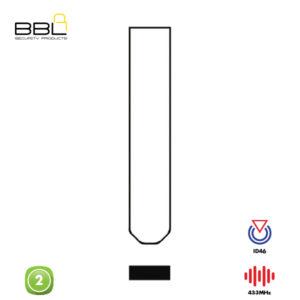 BBL Remote Honda Shape 2 Button REMC-HON-39